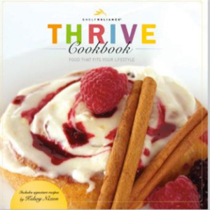 thrive cookbook cover